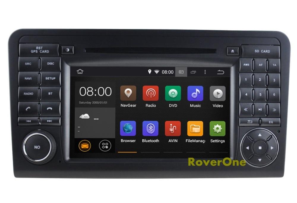 Pour Mercedes ML55 ML63 X164 GL320 GL350 GL420 GL450 GL500 GL550 Android Autoradio lecteur multimédia Radio GPS Navigation
