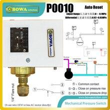 1~ 0 бар вакуумные механические переключатели давления доступны с NO, NC или SPDT контактами управления вакуумной системой оборудования