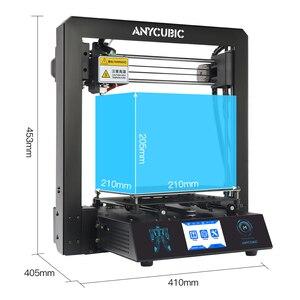 Image 5 - ANYCUBIC 3D מדפסת ערכת I3 מגה עם 1Kg PLA נימה TFT צבע מסך מגע החדש הדפסת DIY סט 3d דרוקר impresora 3d