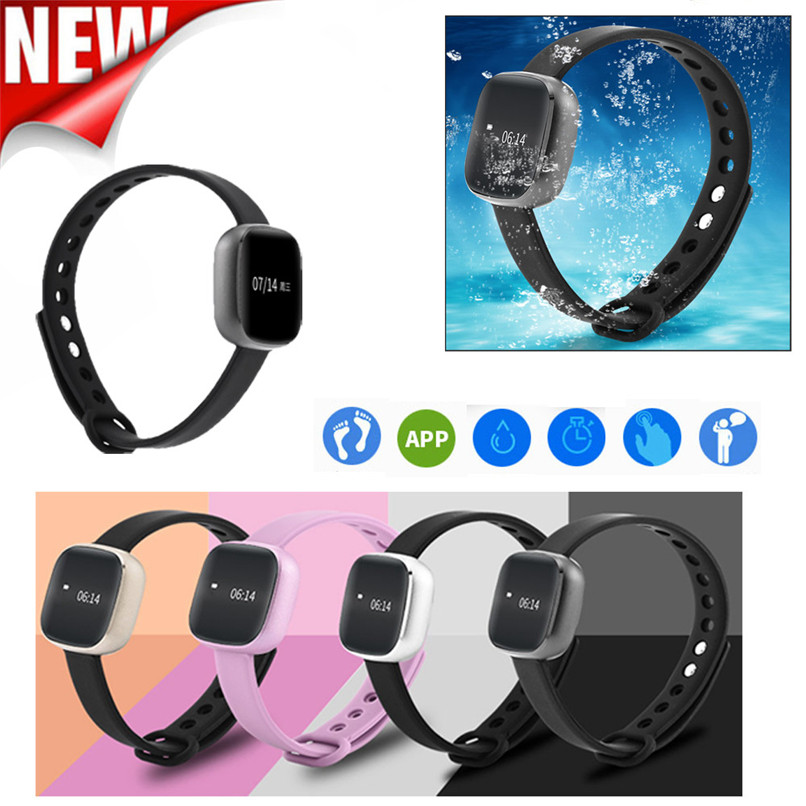 New Arrivals Universal Bluetooth Smartband Waterproof Touch Screen Fitness Tracking For Android IOS Free Shipping NOM17