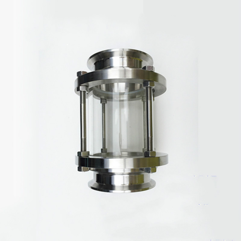 Sanitary Tri Clamp Type Flow Sight Glass Diopter Stainless Steel 304 tri clamp reducer 6 154mm od167 7 x 2 51mm od64 sus304