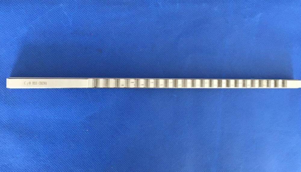 KANGF-TOOL Chiave a brugola da 8 mm C Tipo a Spinta Metrica Dimensione Broccia in Acciaio ad Alta velocit/à Utensile da Taglio for Trapano a CNC