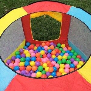 Image 5 - Tienda de juegos portátil para niños, PISCINA DE BOLAS plegable para interior y exterior, juguetes para niños