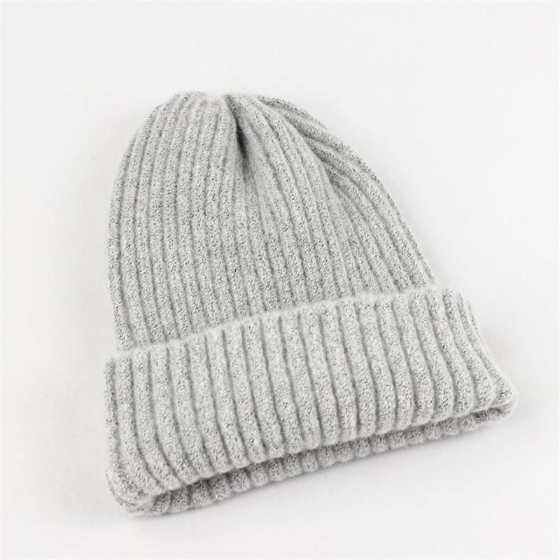 Riokk az Bigfoot Santacarrying Christmas Bags Knit Caps Beanie Skull for Mens Gray