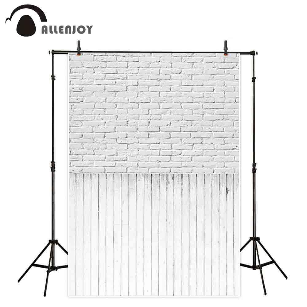 Allenjoy fotograafia taustast telliskivi seina puidust põrandale - Kaamera ja foto - Foto 1