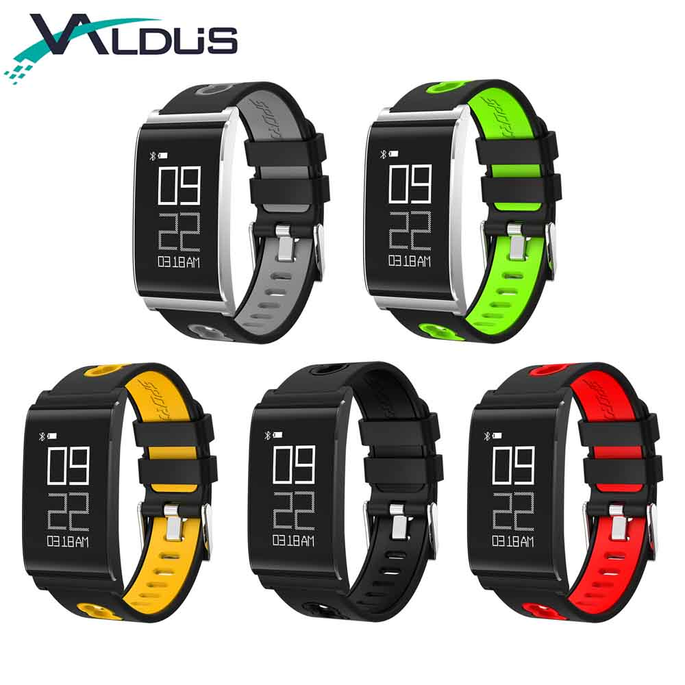 Valdus 0 73 N109 Smart Bracelet Wristband Heart Rate Blood Oxygen Detection Activity Fitness Tracker Waterproof