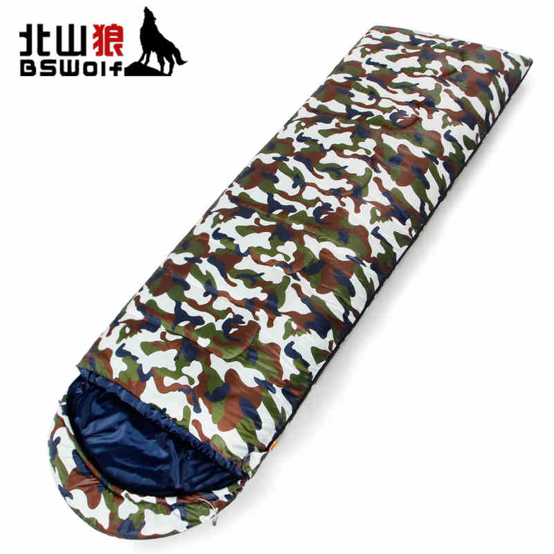 HOT SALE Warm Sleeping Bag for Single Person Super Light Carry Easy Waterproof Outdoor Hiking Camping Tent Blanket FREE SHIPPING outdoor portable insulated cooler picnic bag 4 person travelset with tableware lunch bag wine bag handle bag for camping hiking