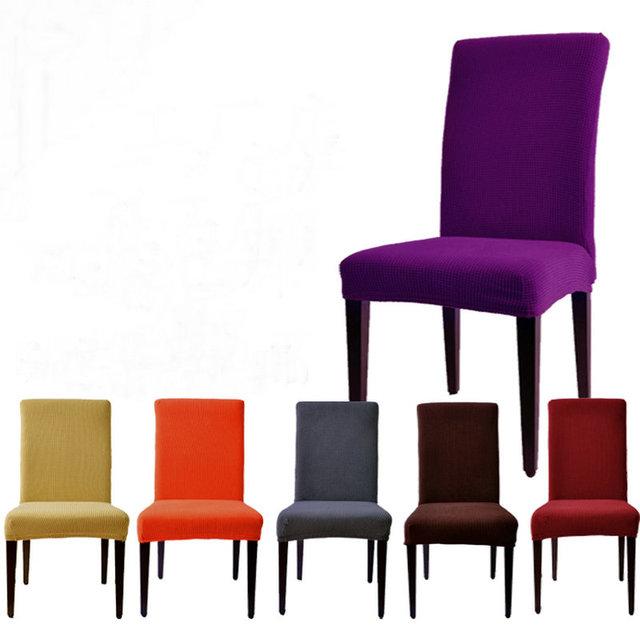 Heißer Verkauf 22 farben baumwolle Elastischen stuhl sitzbezug ...