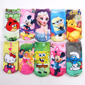 2016 Wholesale hotsale 6 pairs high quality cartoon children socks boys girls kid at factory prices cartoon socks TN901