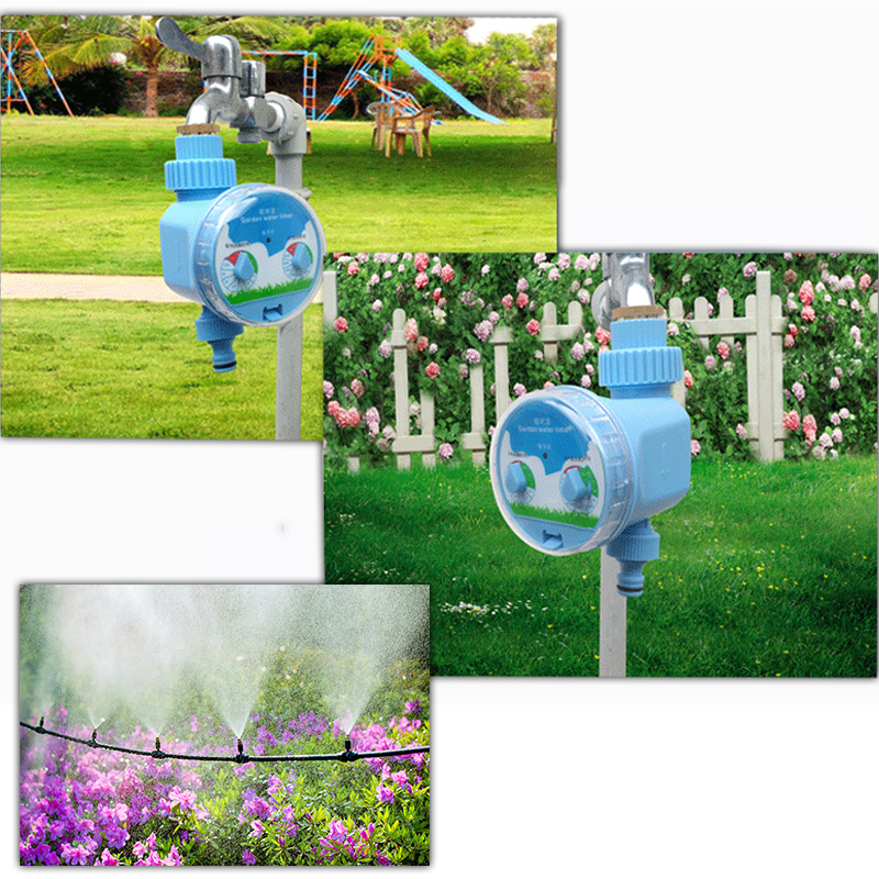 NEW 2019 Automatic Flower Pouring Controller Timing Water Valve water timer garden water system controller hose timer gardening in Garden Water Timers from Home Garden