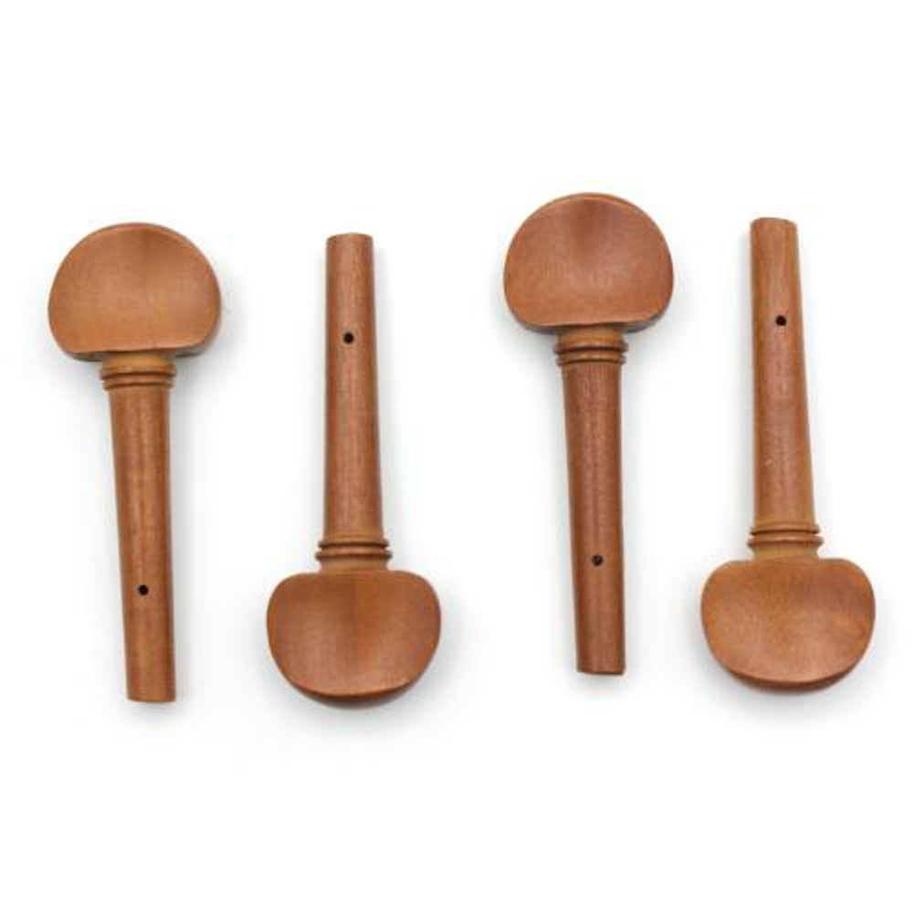 1 Set Jujube Wooden 4/4 Size Full Violin Fiddle Strings Tuning Pegs With Pearl Eye Portable Durable Violin Peg Replacement