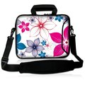 "15"" Colorful Flower Notebook Laptop Shoulder Sleeve Bag Case+Handle,Pocket For 15.6"" Dell HP ASUS/15.5"" Sony Vaio E Series"
