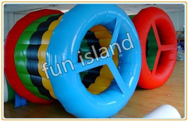 Inflatble труба ролл играть, Надувные спортивные игры. Надувные роллинг игрушка