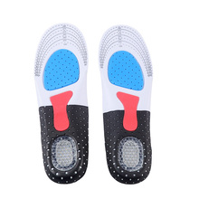 For men and women silicon Gel Insoles Foot Care for Plantar Fasciitis Heel Spur Running Sport Insoles Shock Absorption Pads