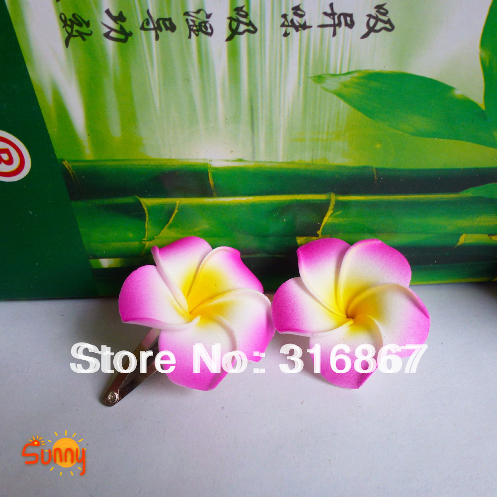 50 rose red foam hawaiian plumeria flower frangipani flower bridal 50 rose red foam hawaiian plumeria flower frangipani flower bridal hair clip 45cm on aliexpress alibaba group izmirmasajfo Choice Image