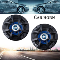 Newest Universal 80W 4 Inch 2 Way Auto Car Coaxial Stereo Music Speakers Set High End