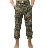Perakende Askeri Taktik Kargo Pantolon Savaş Swat Ordu Pantolon Mens Pantolon Asya Boyutu S-2XL