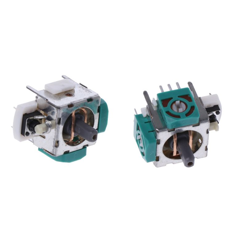 2/4Pc 3D Analog Joystick Axis Sensor Module for Xbox360 PS2 PS3 Contoller  Repair