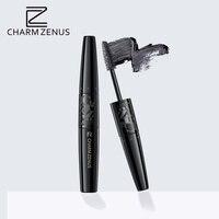 CHARM ZENUS Brand Eye Makeup Mascara Waterproof Eyelash Curling Lengthening Black Eye Lashes Long Double Head