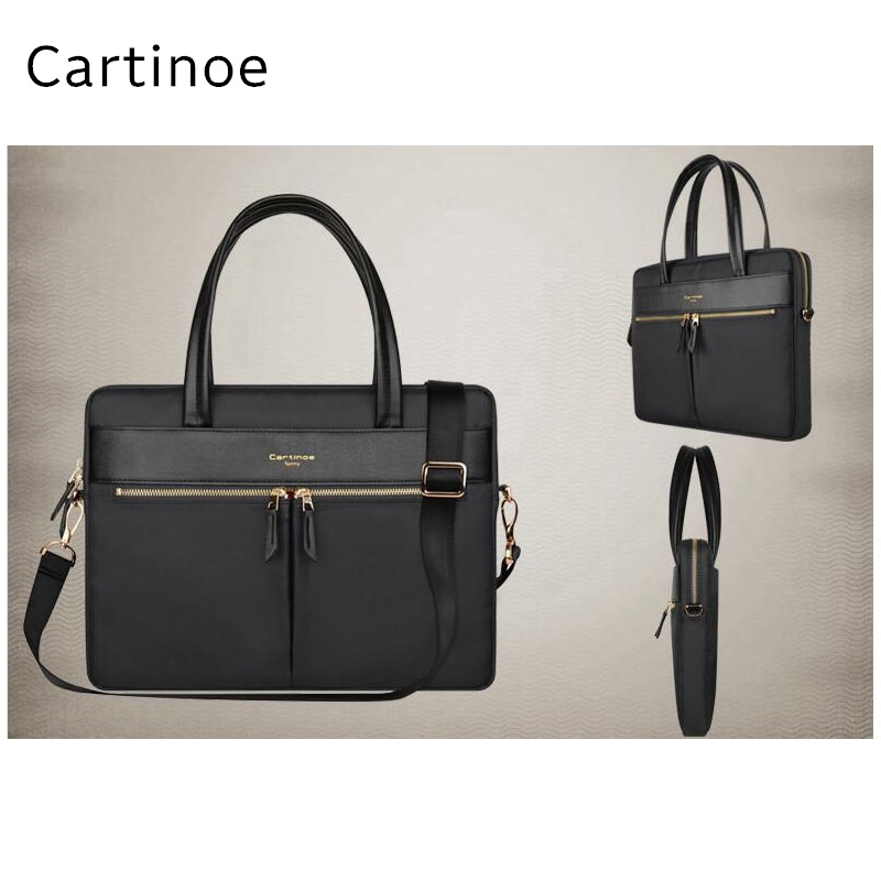 2017 Newest Brand Cartinoe Nylon Messenger Bag For Macbook Laptop Pro 15.4, Case For Notebook 14,15 inch, Free Drop Shipping.