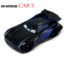 Disney PIXAR Cars 3 JACKSON STORM 1:55 Scale Mini Cars Model Toys For Children Birthday Gifts New Figures Alloy Cars Brinquedos