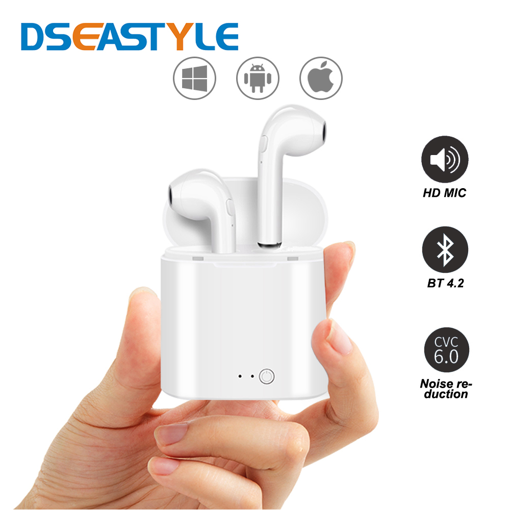 Dseastyle I7S TWS Wireless Bluetooth Earphone Bluetooth