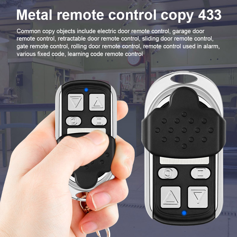 433MHZ Metal Copy Came Remote Control For Garage Car Home Gate Sliding Door XJ66