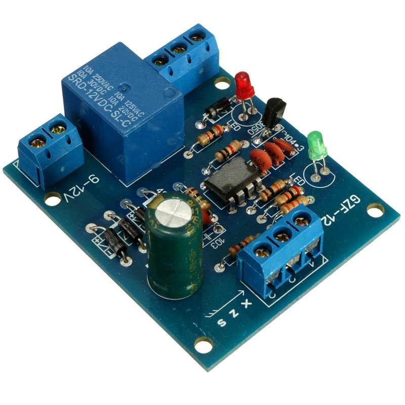 New Electric Unit High Liquid Level Controller Sensor Module Water Level Detection Sensor 9-12V Control High Current Relay Board
