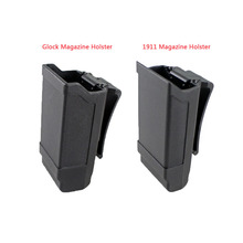 Tactical Mag Holder CQC Stack Magazine pouch Holster for Glock 9mm Caliber or 1911