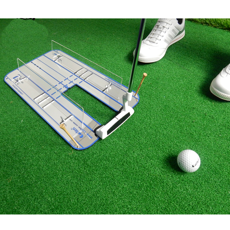 Golf Putting Mirror Alignment Training Aid Swing Trainer Eye Line Golf Practice Putting Mirror Large Golf Accessories golf putting mirror alignment training aid swing trainer eye line golf practice putting mirror large golf accessories
