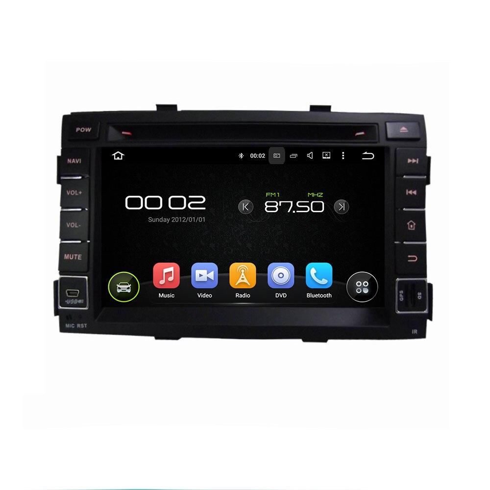 Navirider voiture DVD Android 8.0.0 8-core écran tactile voiture stéréo pour kia SORENTO 2011 + RADIO gps tête unité pièces carte caméra cadeau