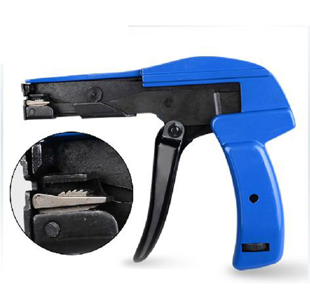 Auto Tensioning Tools Guns Fastening Cutting Tool Plastic Nylon Cable Tie Gun stainless steel cable tie gun fastening and cutting tool with adjustable bundling pressure