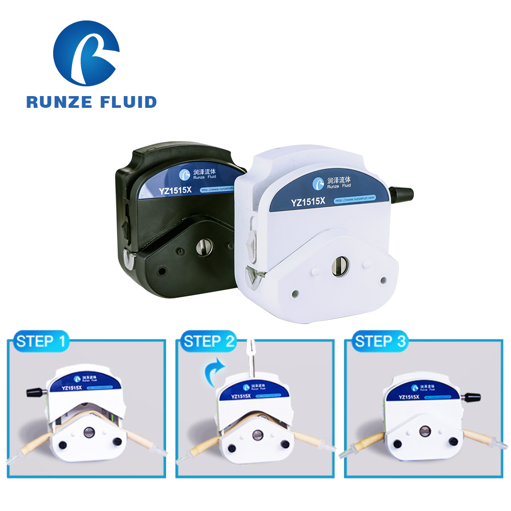 Easy Replace Silicon Tubing Head Dosing Pump ABS China Factory - 3