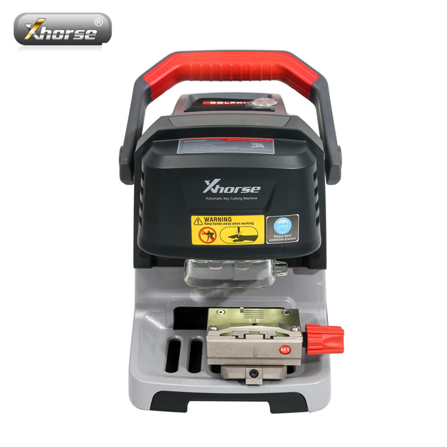 Xhorse Condor Dolphin XP005 Automatic Key Cutting Machine V1.1.9 Works On IOS & Android Via Bluetooth Update Online