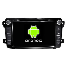 ROM 16G Quad Core 1024*600 Android 5.1.1 Fit Mazda CX-9 2012 2013 2014 2015 Car DVD Player GPS TV 3G Radio Navigation