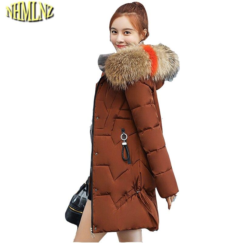 brick Femmes Col Couleur Solide Black creamywhite Fourrure Long red  armygreen Moyen Manteau Taille Nouvelle Mode ... 3496a349de15