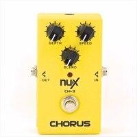 NUX CH 3 Guitar Effect Pedal Chorus Guitar Effect Pedal True Bypass Design Durable Aluminum Alloy