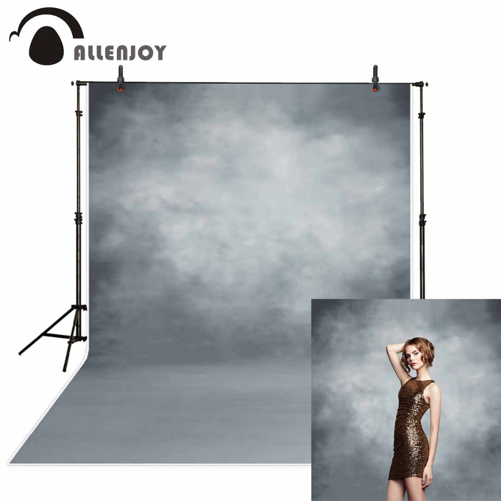 Allenjoy Photography Backdrop White Gray Professional Portraygraphy Task Portray New Background Photocall Custom Photo Printed