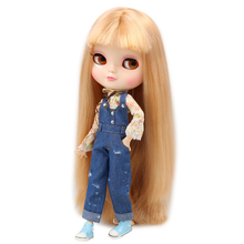 ICY Neo Blythe Doll Champagne Hair Azone Jointed Body 30cm