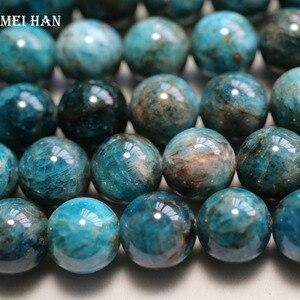 Image 1 - 阪卸売ナチュラル (1ストランド/セット) 11.5 12ミリメートルブルールースビーズファッション宝石の石ビーズジュエリー作成diyのため