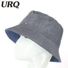 URQ Summer Bucket hats for Man Woman Outdoor Fishing Wide Brim Hat Rain Caps Men