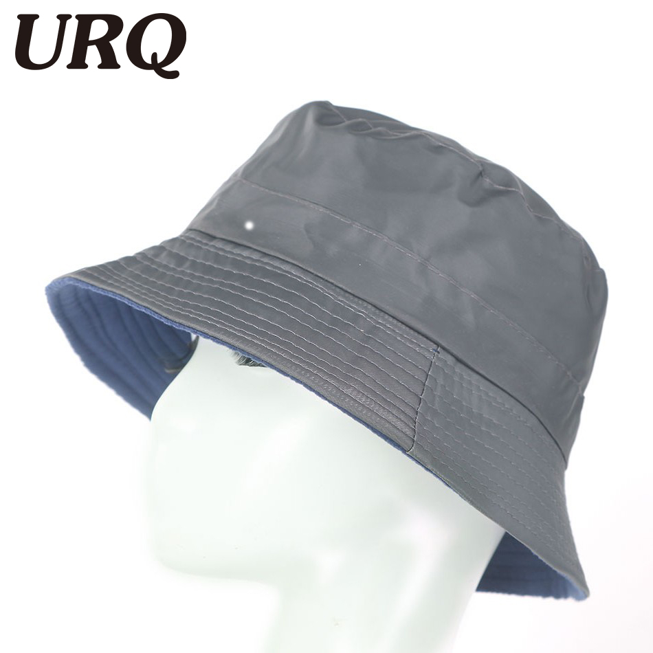 dd51fd5d0d3 URQ Summer Bucket hats for Man Woman Outdoor Fishing Wide Brim Hat Rain Caps  Men Hiking Sombrero Gorro Hats ZZ4026