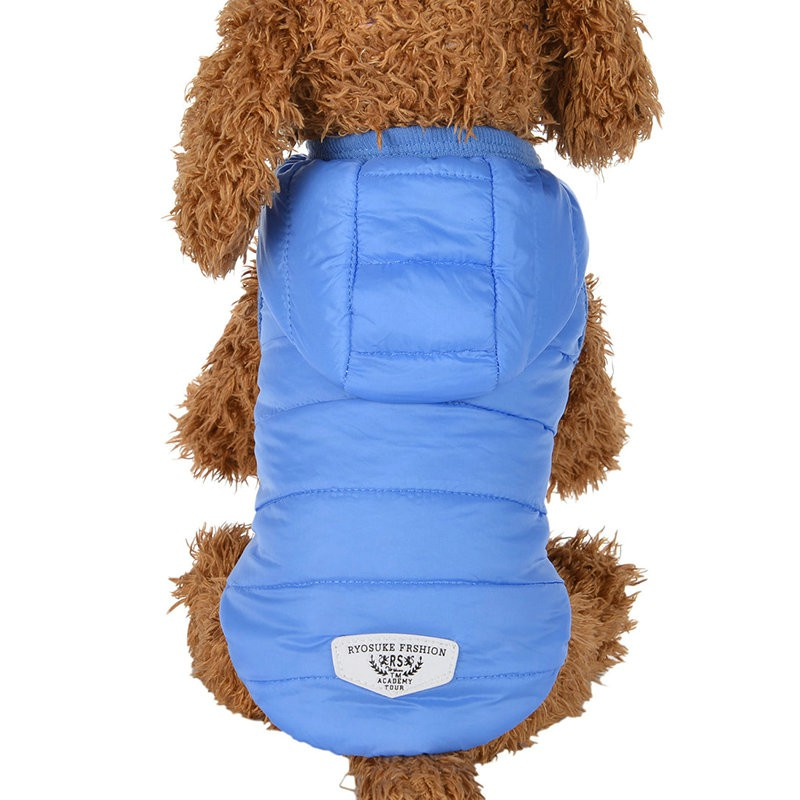 Hooded Style Pet Jackets Dog Thick Winter Coat Clothes From XS to XL Dog Coat Dogs Clothes Dog Super Warm Clothes