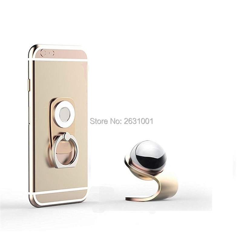 car finger ring phone holder gold1