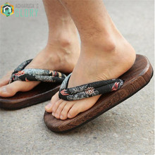 TAYUN geta,women sandals ,2017 summer heel flip-flops women Japanese clogs wooden slipperes cosplay costumes shoes GETA-132