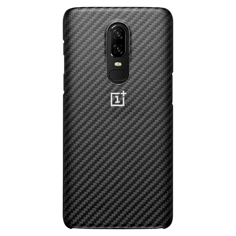 OnePlus 6T Protective Case Karbon Original OnePlus6T Back Cover Shell Phone Cases Ultra Slim Thin Kevlar Black One Plus 6T