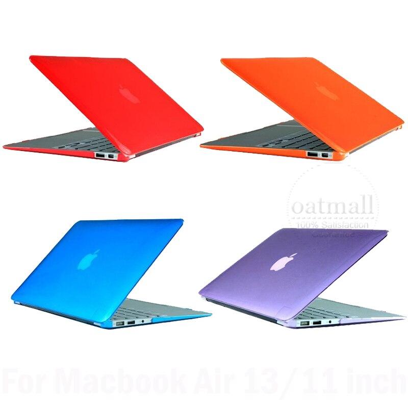 New Anti éblouissement mat caoutchouté Hard Cover pour Macbook Air Case 13 polegada 11 polegada pour