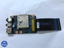 Оригинальная звуковая плата NOKOTION для Lenovo Y580, USB, с кабелем, QIWY3, LS-8003P, QIWY4, USB2.0