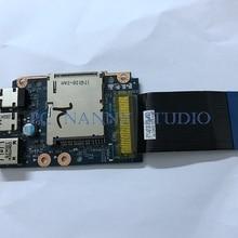 NOKOTION Orijinal Lenovo Y580 USB Ses Kurulu w/kablo QIWY3 LS-8003P QIWY4 USB2.0
