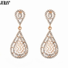 Buy small chandelier earrings and get free shipping on aliexpress juran design dangle earrings with small women aloadofball Image collections